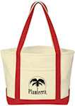 Heavy Cotton Canvas Boat Totes